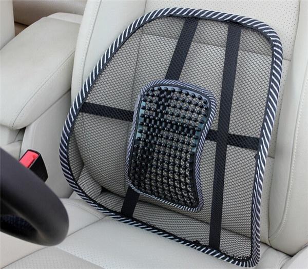 coussin lombaire pour le mal de dos en voiture